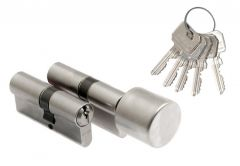 Set of Wilka cylnders 1400 30/40+ 1405 30K/35 nickel with knob, B clas