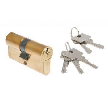 Cylinder lock B-HARKO 30/30mm H6 brass 6-valve 6.0class