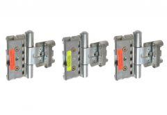 Hinge BAKA PROTECT 3D (for doors with seals in frame) Rebated Doors -