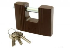 Padlock with Straight Shackle LOB KT05 70 mm