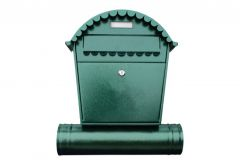 Post Box 1 RS with Tube - Antique Green
