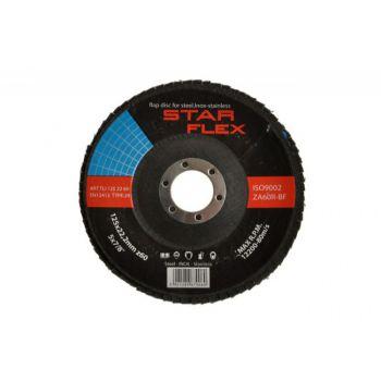 Flap Blade Disc for Steel T29 125-22 GRAN 40 INOX