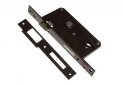 Insert Gate Mortise Lock - Lacquered Right