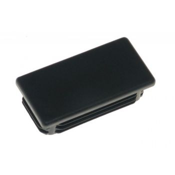 Rectangular Hole Plug ZP 27x40 - Black