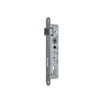 Mortise Lock 90/22 ZZB-3 PZ Stainless Steel, Left without Strike Plate