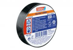 Insulating tape TESA   black   length 20m, width 19mm (53947-00005-15)