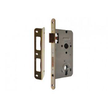 Mortise Lock ZW100 72/55, PZ Galvanized Gold