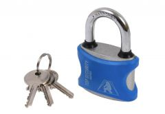 Cast Iron Latch Padlock K50YPCV in PVC Cover (Blister Package)