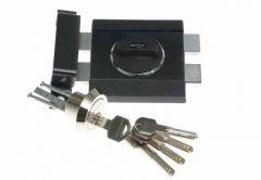 Rim Lock GERDA ZX 1000 Certificate C Class - Graphite