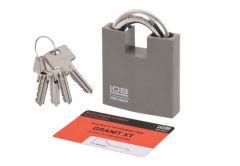 Padlock LOB GRANIT-2 XT KWG620, 4.3 Class Certificate
