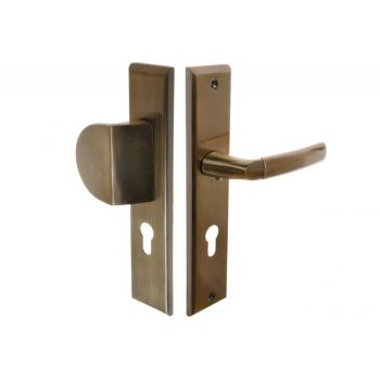 Handle with Pull SPECIAL Exterior, 72 PZ, Left - Patina