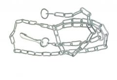 Dog Chain 4 - Galvanized