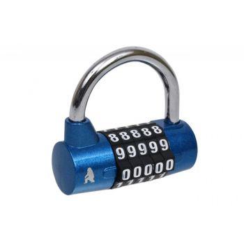 Combination Roller Padlock KWSY - Blue