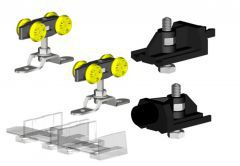 Set of Connectors HERKULES HS for 1 Folding Wing 60kg