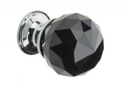 Furniture Holder KRYSZTAŁ ball 25mm - Black
