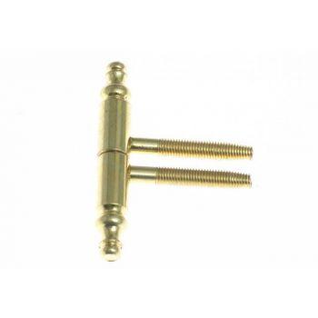 Hinge OTLAV- Screw-in 190-140 OZ 14mm - Brass-Plated