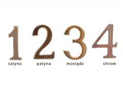 4.5cm self-adhesive Digit - badge Patina