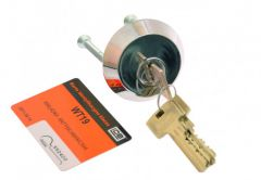 Cylinder for surface lock LOB WT19 for TAURUS/YETI with escutcheon