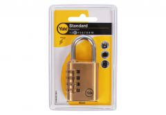 Combination Padlock YALE Y150/40 (4 digits) - Brass
