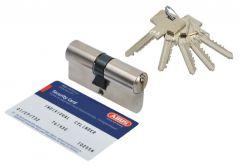 Cylinder lock Abus Pfaffenhain Standard 30/40 pearl nickel (5 serrated