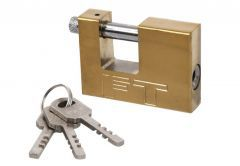 Padlock with Straight Shackle 90 mm