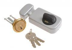 Rim Lock LOB TB611 Pearl