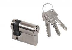 Cylinder lock LOB ARES WJ54 9/65 - Nickel