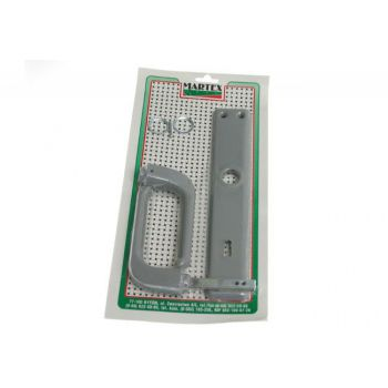 Gate Handle 90 BB - Grey