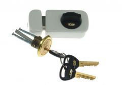Rim Lock LOB TB51 White