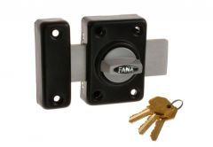 Rim Lock ZDD 3 Keys - Black