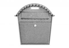 Post Box 1s - Antique Silver