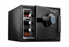 Safe MASTERLOCK LFW082FTC with electronic lock, Water-Resist and Fire-Resistant (34,8 x 41,5 x 49,1cm)