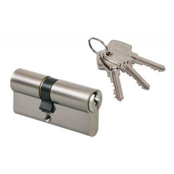 Cylinder lock Gerda E1 30/45 pearl nickel