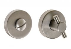 Escutcheon (Bottom) Rounded, TUPAI INOX, WC
