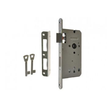 Mortise Lock ZW100 72/60, BB Galvanized Silver