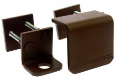 Hasp for Padlock KRZ3, Right - Brown