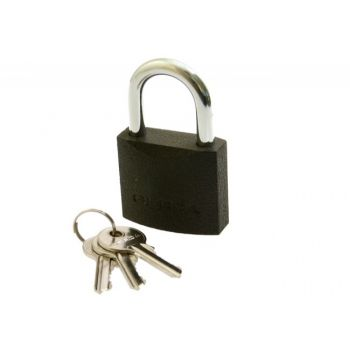 Cast Iron Latch Padlock S30 KZZS, 3 Keys in set