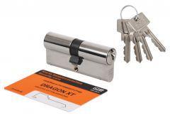 Cylinder lock WP600 DRAGON XT 40/40 Nickel 6.2 C class