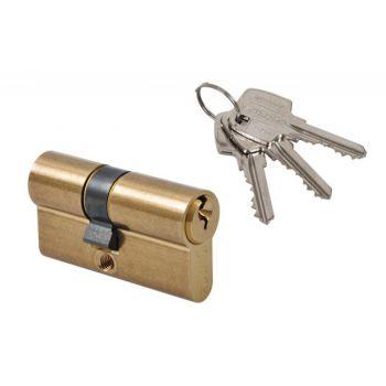 Cylinder lock Gerda E1 35/35 brass