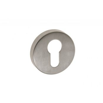 Escutcheon (Bottom) Rounded TUPAI EF, Stainless Steel, PZ
