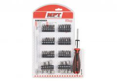 Drill Bits Set MPT with holder, 58 bits MHA01009