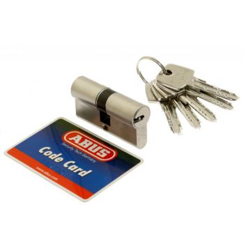 Cylinder D10MM ABUS 30/60  pearl nickel 5.2 class