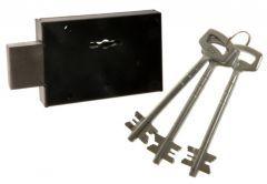Lock DOM POLSKA Rim Key for metal doors