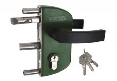 Garden Lock LOCINOX LAKZ with Handle on Profile 40mm