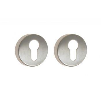 Escutcheon Round B-HARKO TI 01 PZ, base - Stainless Steel