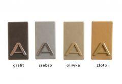 Letter self-adhesive 4.5 cm - Olive badge