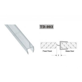 Seal for shower cabin TD-003 10mm 2,2 linear metres