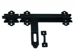 Gate Latch Bolt 250 - Black
