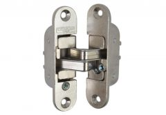 Invisible Hinge Kit W 978-00-00 - Nickel; Right