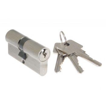 Cylinder lock B-Harko H6 55/60mm nickel satin 6-valve, 6.0 class